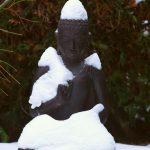 Buddha im Schnee © Lars Baus 2014