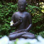 Buddha und die weißen Blumen © Lars Baus 2018