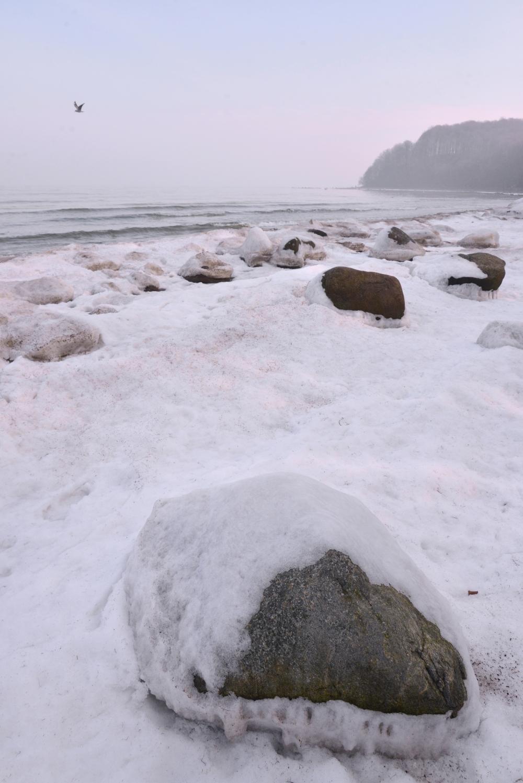 Ostseestrand im Winter © Lars Baus 2018