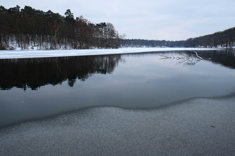 Winter am See © Lars Baus 2013