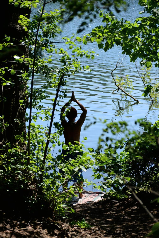 Yoga am See © Lars Baus 2014